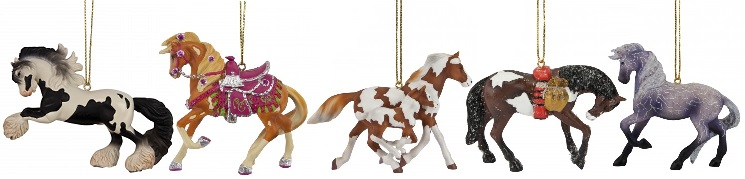 Trail of the Painted Ponies, 2014 Ornament Set