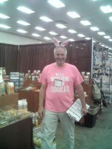 Easter Bunny at Denver Mart