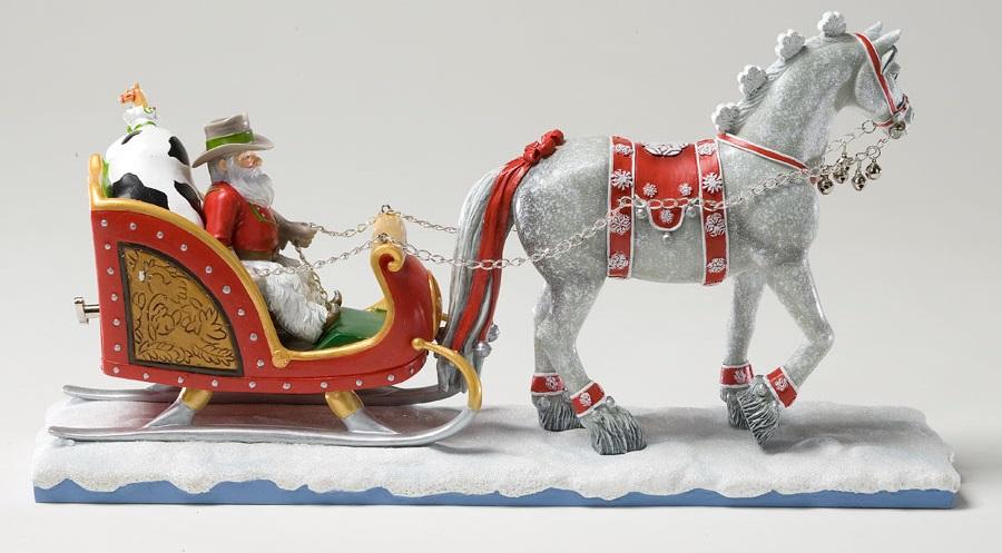 Cowboy Santa Centerpiece