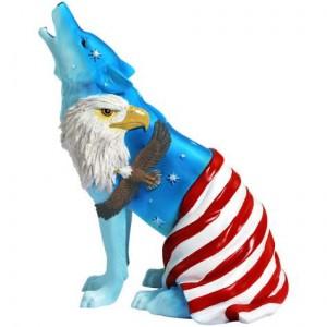 American Eagle Wolf